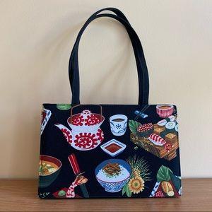 Vintage Sushi Handbag / Shoulder Bag